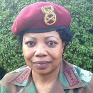 Major General Ntsiki Memela-Motumi