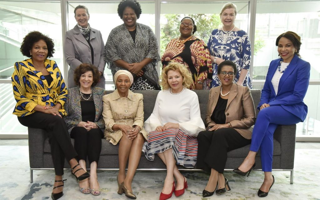 IWFSA Board members and founder